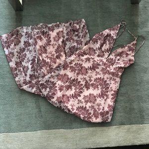 ASOS Floral Maxi Dress | Pink